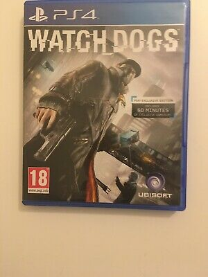 Watch Dogs by Ubisoft Video Game for Sony PlayStation 4