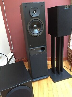Mirage Canadian Tower Speakers M-790 Audiophile Great Used Condition