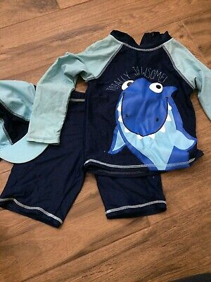 Swim Outfit 2-3 Years Boys Shark