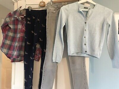 Next Girls Clothes Jeans, Shirt, Joggers, Cardigan Age 10