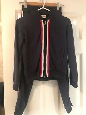 moncler tracksuit age 8 good condition