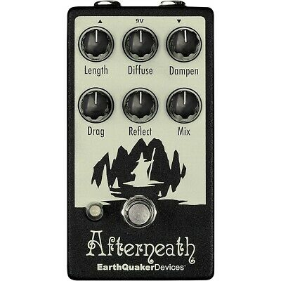 EarthQuaker Devices Afterneath V2 Otherworldly Reverberation Machine  LN