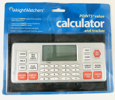 New Weight Watchers Flex Points Value Calculator Tracker Flexpoints Sealed 2004