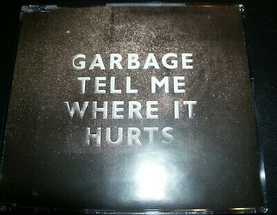 Garbage Tell Me Where It Hurts CD Single – Like New
