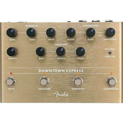 Fender Downtown Express Bass Multi-Effects Pedal   LN