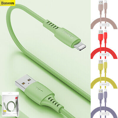 4FT 2.4A USB Lightning Data Cable Charger For iPhone 11 Pro XR XS Max 7 8 6 Plus