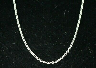 "Tiffany & Co 18"" Sterling Silver 925 Chain Necklace *"