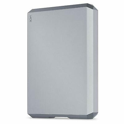 NEW! Lacie STHG5000402 5TB MOBILE DRIVE USB 3.1-C Space Grey