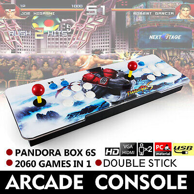 2060 in 1 Pandora Box 6S Retro Video Games Double Stick Arcade Console HDMI USB