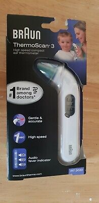 Braun  Thermoscan 3 Ear Thermometer - White new