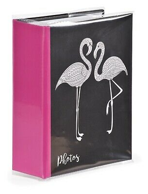 Zen Flamingos 6'' x 4'' Slipin Photo Album Hold 120 Photos Photography Storage