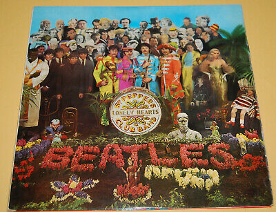 The Beatles ‎– Sgt. Pepper's Lonely Hearts Club Band - Vinyl LP PCS7027 - 1967