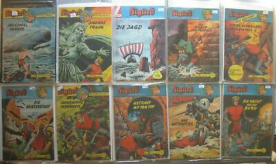 Lehning Comic Convolute Collection Sigurd in 3 Folders 103 Piece Issues