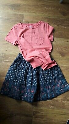 Fat Face Bundle- Skirt & Top age 8-9, hardly worn