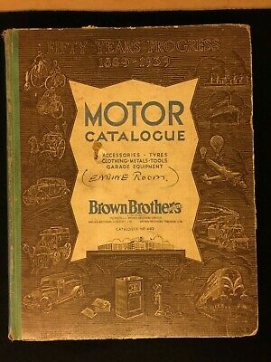 Brown Brothers Motor Catalogue Accessories - Golden Jubilee Edition - April 1939