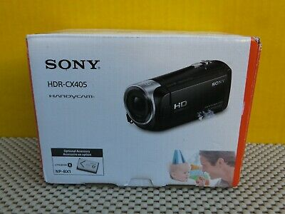 Mint Sony HDR-CX405 Handycam Flash Memory Camcorder with Box * L@@K