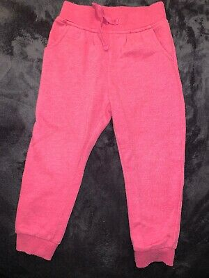 George Girls Pink Joggers Excellent Condition Age 2-3 Years *Other Items Also*