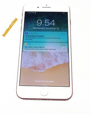Apple Iphone 7 Plus 256Gb A1661 Product Red L@@K