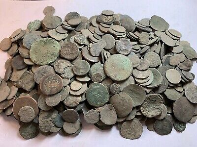 Premium Uncleaned Ancient Roman Coins 40 Coins Per Buy