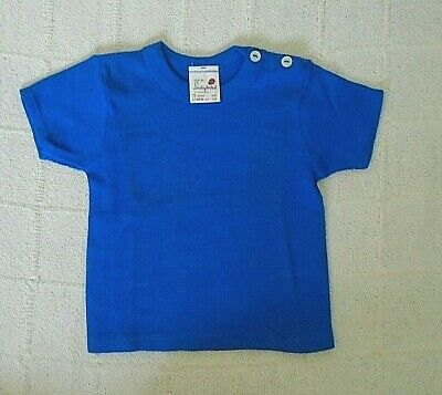 Vintage Ladybird Aircell T-Shirt - Age 1-2 -92 cm - Royal Blue - Cotton - New