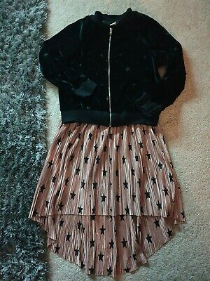 Girls Star Skirt & Top outfit  Age 5 - 6 Years