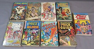 OVERSTREET PRICE GUIDE #4 5 6 7 8 9 10 11 13 (Softcover) Nice Shape 1974-1983