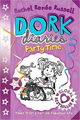 Dork Diaries Party Time By Rachel Renee Russell NEW (Paperback) Book
