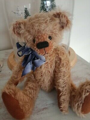 One Of A Kind Mohair Bear By Lauralla Bears