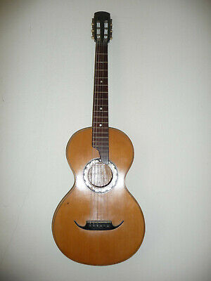 Romantic Era Antique Guitar