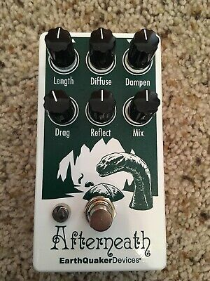 EarthQuaker Devices Afterneath V2 Reverb Pedal Special Edition