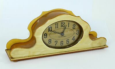 "New Haven ""True Time Tellers"" Dresser Clock- Wm676"