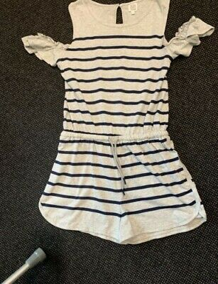 Seed Teen Striped Playsuit Size 16