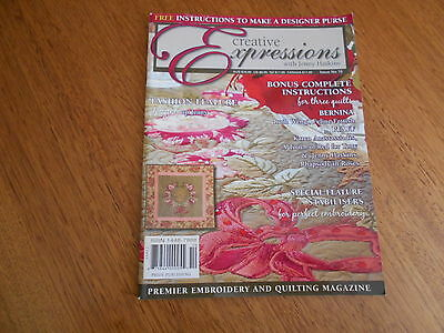 Creative Expressions With Jenny Haskins Magazine - Issue 10  - Good Condition -