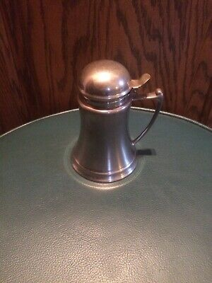 "Royal Rochester  Vintage Silver Plated Syrup Pitcher - Syrup Pot #2305 5"" tall"