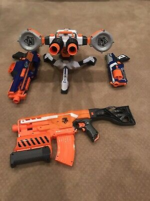 Nerf CS-18 NStrike Elite Rapidstrike Blaster,Nerf RhinoFire Elite Blaster+Others