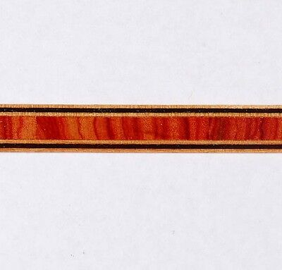 3/8 Vertical Tulipwood -- Buffard Frères Marquetry Banding Strips (Inlay-83)