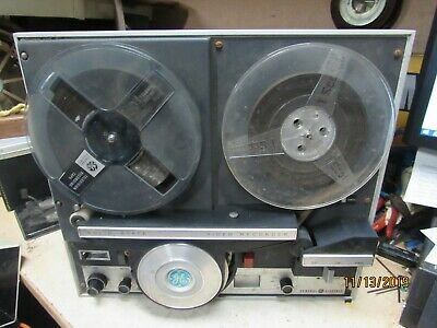 Sony Tape Reel To Reel Video Recorder System General Electric 4TD1B2