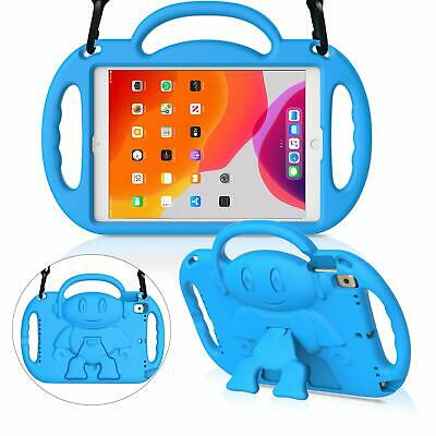 """Kids Case For New Ipad 10.2"""" 7Th Generation 2019, Light Weight Shockproof Blue"""