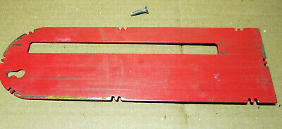 """Craftsman 113.241921C 9"""" Table Saw Parts - Table Insert / Throat Plate"""