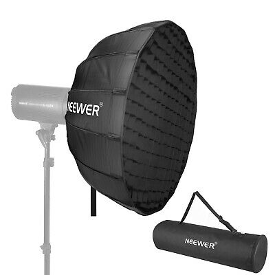 Neewer 25 Inches Hexadecagon Collapsible Silver Beauty Dish with Bowens Mount