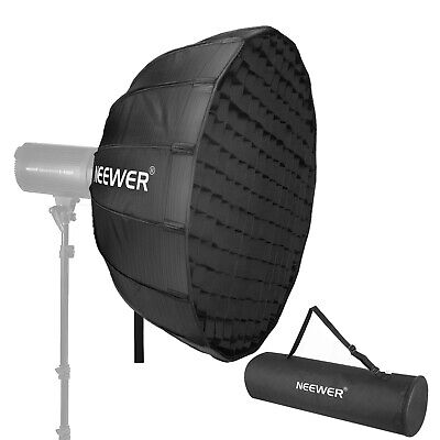 Neewer 42 Inches Hexadecagon Collapsible Silver Beauty Dish with Bowens Mount