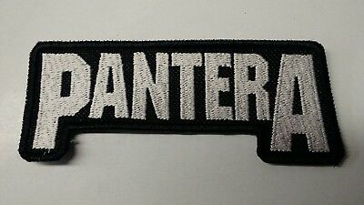 PANTERA Embroidered Patch IRON/Sew on Vulgar Display of Power Logo