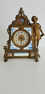 French Antique or Vintage porcelaine and Ormolu Clock
