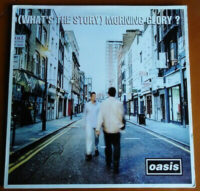 """OASIS (What's The Story) Morning Glory, 12"""" Vinyl Double Album, 1995 original."""
