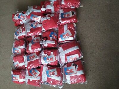 Joblot 20 boys santa Claus father Christmas Fancy Dress Costume Wholesale outfit