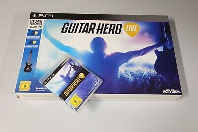 Playstation 3 / PS3 Guitar Hero Live mit Gitarre