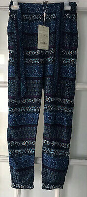 Monsoon Girls Trousers Size 7-8yrs New With Tags