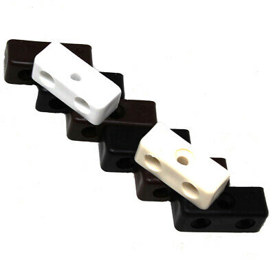 Modesty Block Wood + Furniture Jointing Connectors - Beige Black Brown White