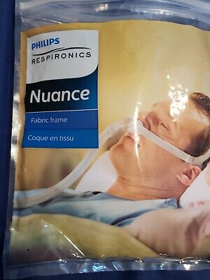 Philips Respironics Nuance Fabric Frame, Headgear Replacement Parts.