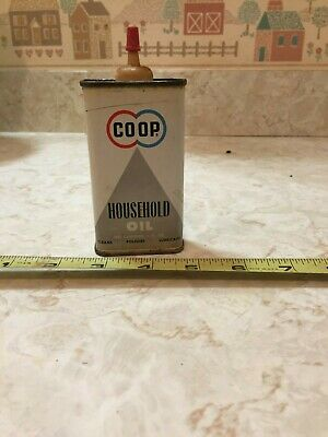 Vintage Co-op 4 Oz Household Oil Tin